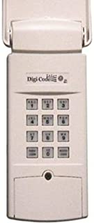 Digi-Code 5202 Code Swich 310Mhz Wireless Keypad Stanley can Replace The Stanley 2986, 298601 by Linear Part Number MCS298601