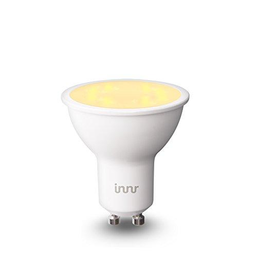 Innr GU10 ampoule LED connectée, blanc réglable 2200K - 5000K, compatible avec...
