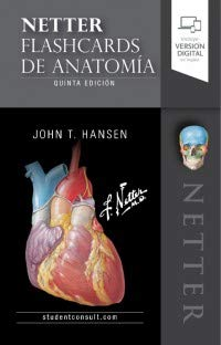 Netter. Flashcards de anatomía (5ª ed.) (Spanish Edition)