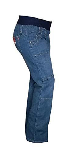 Markenlos Umstandsmode Umstandshose Umstandsjeans blau Jeans Schwangerschaft 36 38 40 42