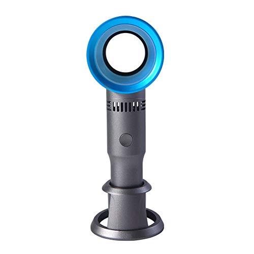 Duvets Ventilador Sin Cuchilla USB 2000mAh, Portátil Y Personal para El Hogar Yla Oficina Silencioso Y Potente, Lo Enfría En El Verano Caliente