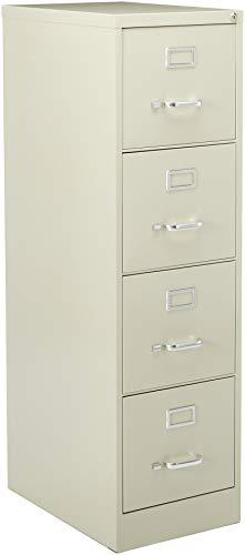 Lorell Fortress File Cabinet, Putty