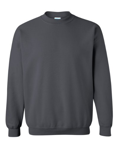 Gildan Men's Heavy Blend Crewneck Sweatshirt - Medium - Charcoal