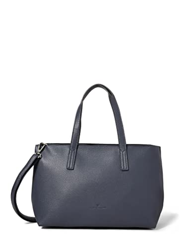 TOM TAILOR bags MARLA Damen Shopper M, dark blue, 34x12x21