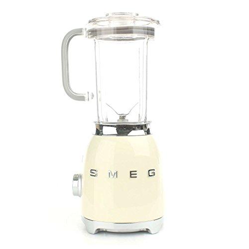 Smeg BLF01CREU - Batidora de vaso 16,3 x 19,7 x 39,7 cm, 1,5 litros (Vidrio,...