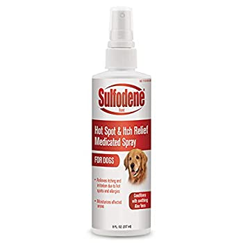 Sulfodene Medicated Hot Spot & Itch Relief Spray for Dogs 8 oz