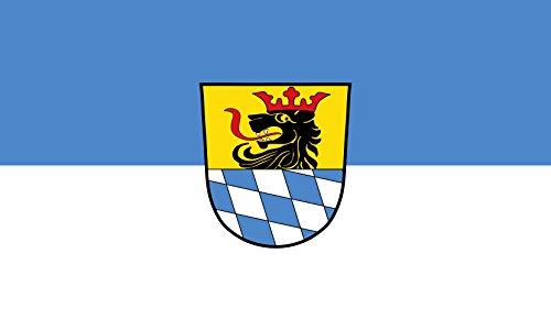 Unbekannt magFlags Tisch-Fahne/Tisch-Flagge: Schrobenhausen, St 15x25cm inkl. Tisch-Ständer