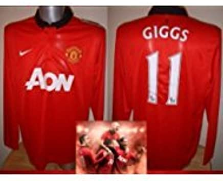 a668dbc478c Manchester United Nike BNWT Adult XL Ryan Giggs Soccer Shirt Jersey Man Utd  New L