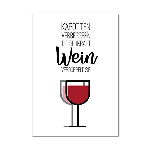 Bild, Poster, Kunstdruck, Küchenbild, Wein, wine, winetime, Deko,