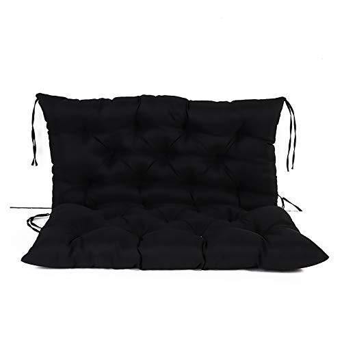 WZLJW - Cojines de banco con lazos con cremallera, cojín cómodo para silla de comedor y silla de jardín