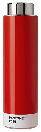 Pantone Tritan Water Bottle 500ml, Red 2035, 6.2 x 6.2 x 22 cm