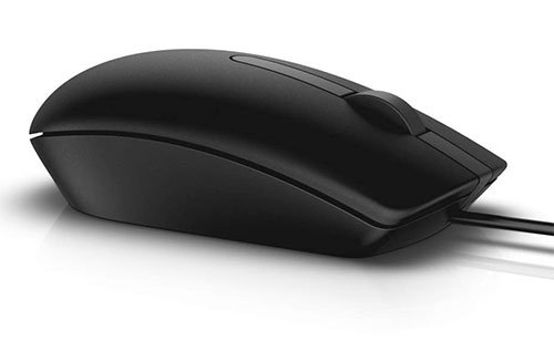 Dell MS116 1000DPI USB Wired Optical Mouse