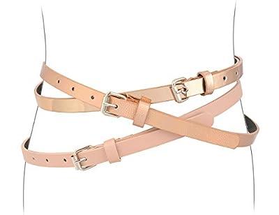 "Belts for Girls 3 Pack Teen Kids Belt Girls Fashion Belt S 31"""