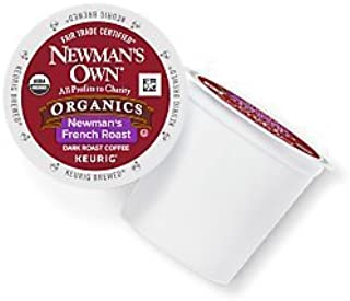 Newman's Own French Roast Coffee Keurig K-Cups, 18 Count