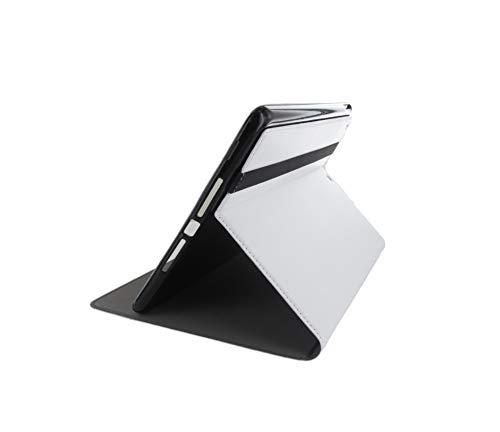 Cleverline CVTAB18EW - Funda para Tablet y Samsung Galaxy Tab a 2018, Color Blanco