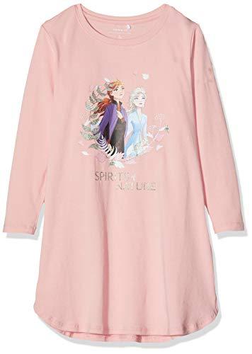 Name IT NOS Mädchen 13173590 Nachthemd, Rosa (Silver Pink Silver Pink), (Herstellergröße: 116)