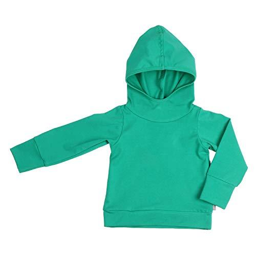 Lilakind' - Sudadera con capucha para bebé (varios colores, talla 62/68-146/152), color azul verde 122/128 cm