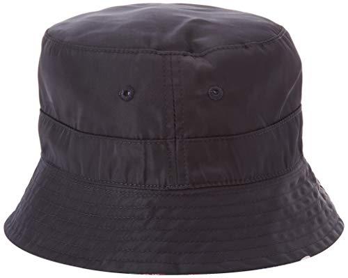 Superdry Nylon Reversible Bucket Hat Gorro Estilo Pescador, Azul (Tropical Print Nk0),...