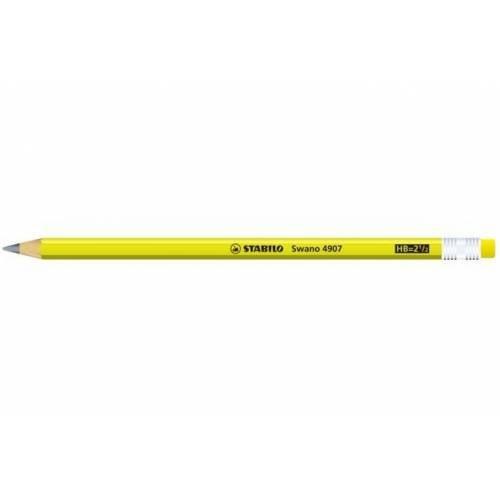 STABILO swano fluo matita in grafite con gommino Giallo - Confezione da 12
