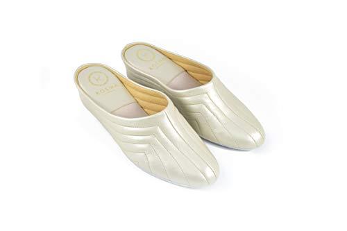 Kosma Menorca Zapatillas de Piel de Estar por casa (36 EU)