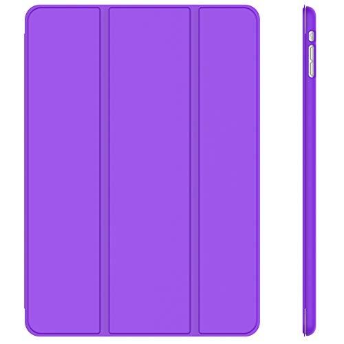 JETech Hülle Kompatibel Apple iPad mini 1 2 3, Schutzhülle mit Ständer Funktion & Auto Einschlafen/Aufwachen, Lila