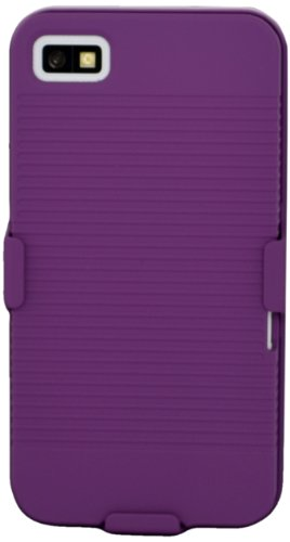 Katinkas Clip Holster Hard Cover per Blackberry Z10, Viola
