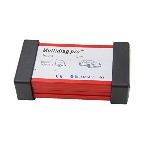 Multidiag Pro + 2020 mit 2017,1/2016,00 NEC Relais for Auto/LKW OBD2 Scanner OBD 2 OBD2 Auto-Diagnosewerkzeug Auto 10.27C (Color : 1)