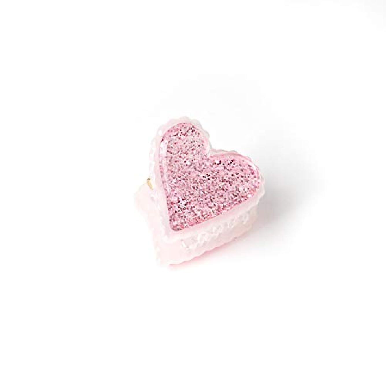 溶けた爆発物忠実HuaQingPiJu-JP 1Pc DIYマジックヘア女性ガールズスパンコールヘアピンヘアクリップパーティーヘアスタイルツールアクセサリー(ピンク)