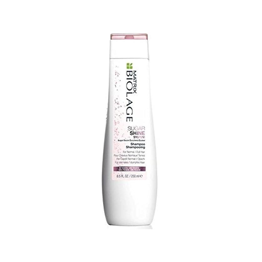 味付け治世指導するMatrix Biolage Sugarshine Shampoo (250ml) (Pack of 6) - マトリックスバイオレイジのシャンプー(250ミリリットル) x6 [並行輸入品]