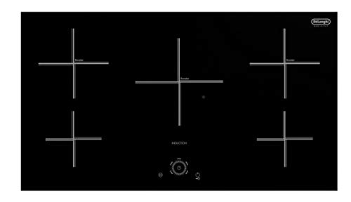 Great Price! Delonghi NDI497 Electric Cooktop – 4 Zone Induction Cooktop – 9 Power levels per zon- Toch Control System – Heat resistant ceramic surface – Front Ignition for Easy Access