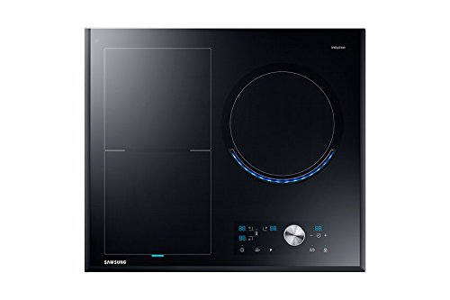 Samsung NZ63J9770EK/EF Induktionskochfeld,Ceran / Glaskeramik, drehbar, Touchscreen, oben vorne, Schwarz