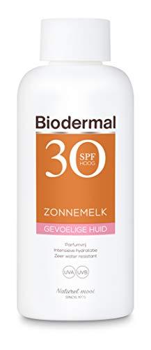 Biodermal Zonnebrand Gevoelige huid - Zonnemelk - SPF 30 - 200ml