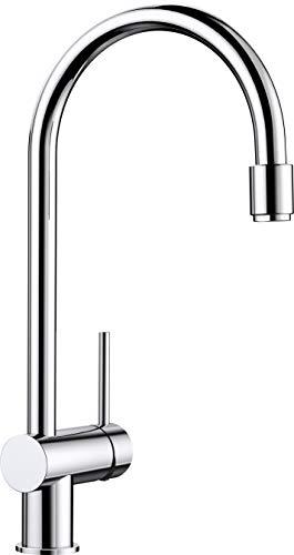 Blanco Filo-S, Küchenarmatur - Einhebelmischer, Oberfläche Chrom, Hochdruck, 1 Stück, 512405,