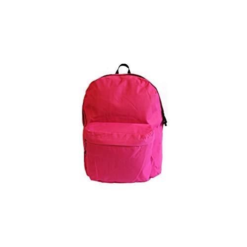 Projects Rucksack 'Basic Line' - aus strapazierfähigen Polyester - Premium Qualität - universell einsetzbar für Damen, Herren & Kinder - Leichter Arbeitsrucksack - 8 Trendige Farben (rosa)