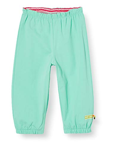 loud + proud Mädchen Outdoor Pant Organic Cotton Hose, Grün (Mint Min), (Herstellergröße: 86/92)