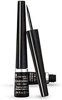 Rimmel Exaggerate Liquid Eyeliner 001, Black (RM237)