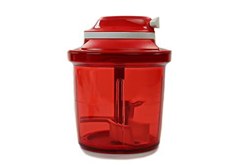 Tupperware Chef Extra-Chef Supersonic - Picadora (1,35 L), color rojo