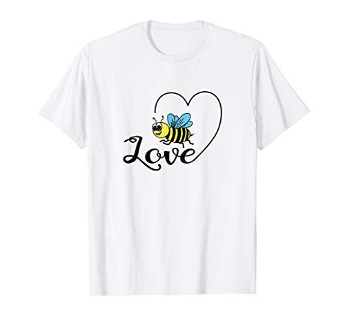 Biene Geschenk Geburtstag Damen und Herren lustig T-Shirt