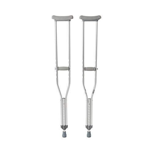 McKesson Aluminum Adult Underarm Crutches 5' 2