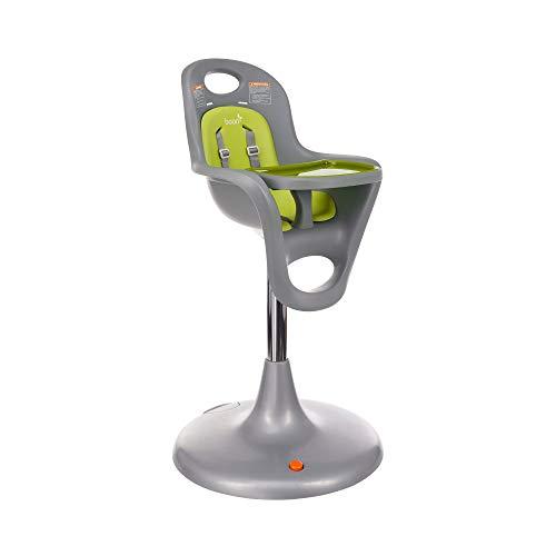 Boon Flair Pedestal High Chair, Green/White