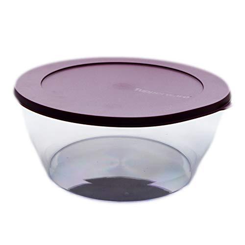 Tupperware Clear Collection 4 L dunkelrot inkl. kleinem Anhänger - Schale Classic Royal Tafelperle