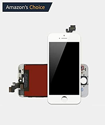 Ecom Hub™ SL Quality LCD Display + Touch Screen Digitizer Assembly Part for Apple iPhone 5 : White