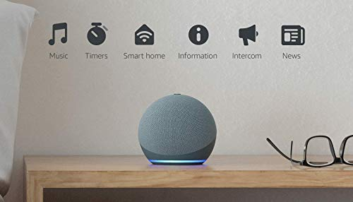 All-new Echo Dot (4th generation) | Smart speaker with Alexa | Twilight Blue