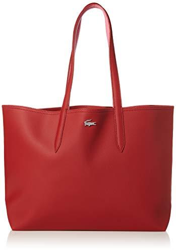 Lacoste Anna Shopping Bag, NF2142AA, Alizarine Chateau Rose