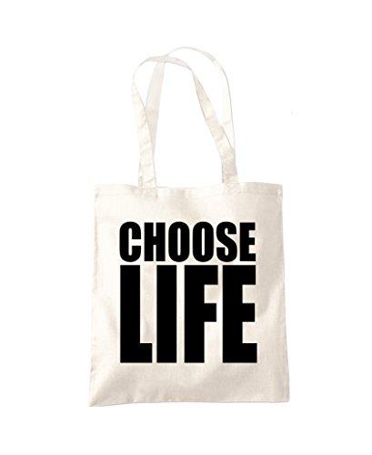 Choose Life Shopping Bag