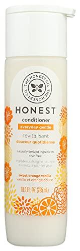 The Honest Company Everyday Gentle Sweet Orange Vanilla Conditioner | Hypoallergenic | Gentle for Babies | Tear Free | Paraben Free | Orange Vanilla Extracts & Coconut Oil | 10 Fluid Ounces
