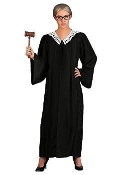 Supreme Court Judge Women s Costume Standard Black