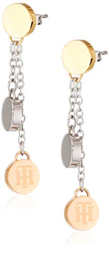 Tommy Hilfiger Jewelry Mujer acero inoxidable Pendiente colgantes 2700992