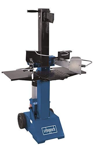 Scheppach HL810 Hydraulikspalter Holzspalter bis 550 mm | 8 Tonnen Spaltkraft 8t | Brennholzspalter 400V | Holzspalter stehend 3500 W