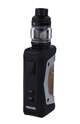 GeekVape Aegis X 200 Watt + Zeus Subohm 5ml Tank im E-Zigaretten Set - Farbe: silber-schwarz